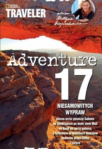 Okładka książki Adventure. 17 niesamowitych wypraw