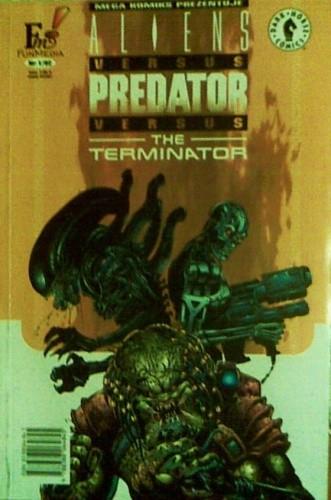 Okładka książki Aliens versus Predator versus Terminator