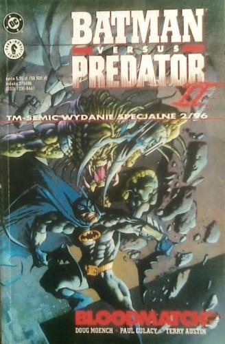 Okładka książki Batman versus Predator II: Bloodmatch