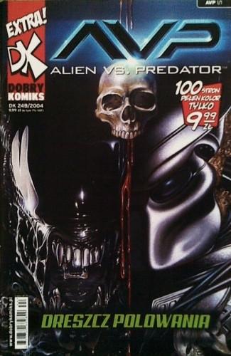 Okładka książki Aliens vs. Predator: Dreszcz Polowania