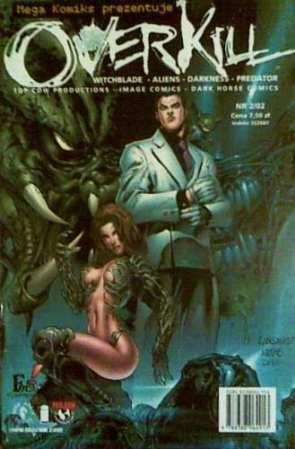 Okładka książki Witchblade/Aliens/Darkness/Predator: Overkill