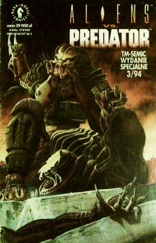 Okładka książki Aliens vs. Predator