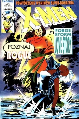 Okładka książki X-Men 2/1993