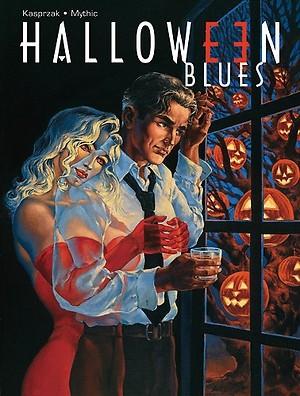 Okładka książki Halloween Blues