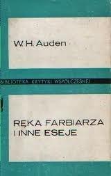 Okładka książki Ręka farbiarza i inne eseje
