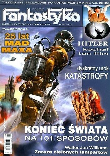 Okładka książki Nowa Fantastyka 268 (1/2005)