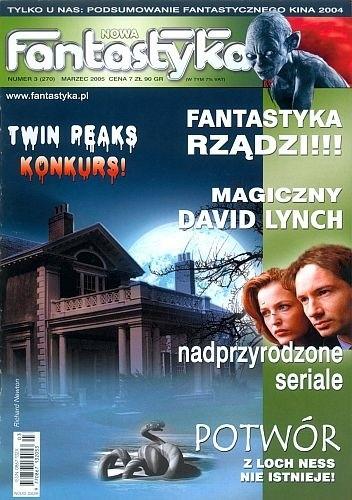 Okładka książki Nowa Fantastyka 270 (3/2005)