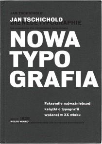 Okładka książki Nowa typografia. Podręcznik dla tworzących w duchu współczesności
