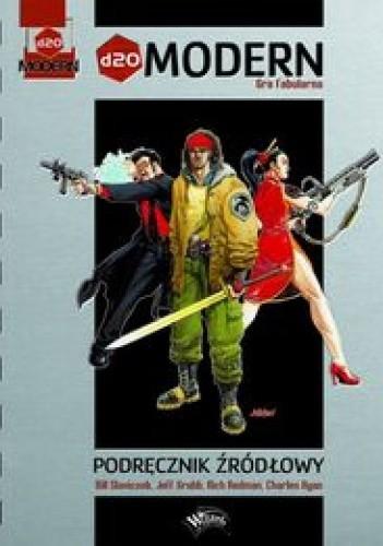 Okładka książki d20 Modern. Podręcznik źródłowy