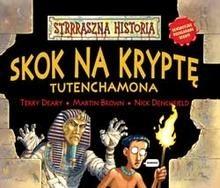 Okładka książki Skok na kryptę Tutenchamona