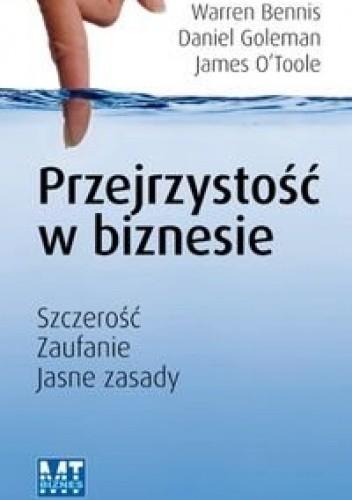 Okładka książki Przejrzystość w biznesie
