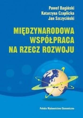 Okładka książki Międzynarodowa współpraca na rzecz rozwoju