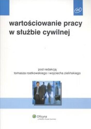 Okładka książki Wartościowanie pracy w służbie cywilnej