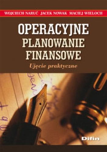 Okładka książki Operacyjne planowanie finansowe