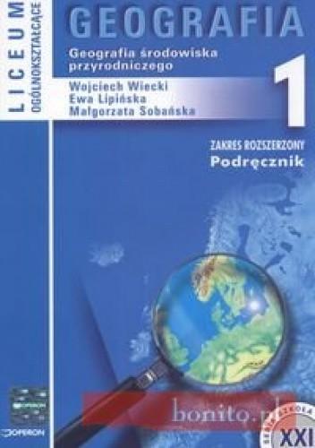 Okładka książki Geografia 1 Podręcznik