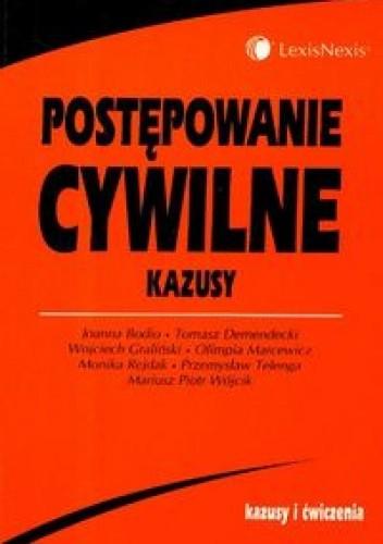 Okładka książki Postępowanie cywilne Kazusy