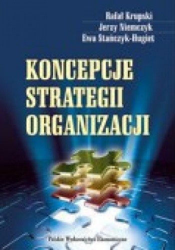 Okładka książki Koncepcje Strategii Organizacji