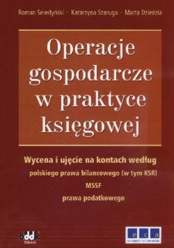 Okładka książki Operacje Gospodarcze W Praktyce Księgowej