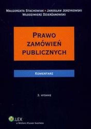Okładka książki Prawo zamówień publicznych komentarz + CD