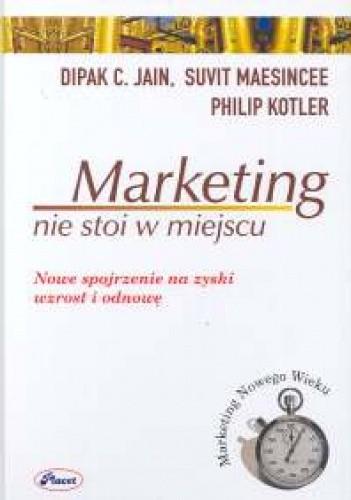 Okładka książki Marketing nie stoi w miejscu