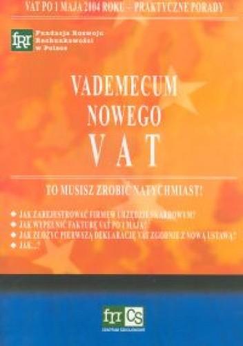 Okładka książki Vademecum nowego VAT