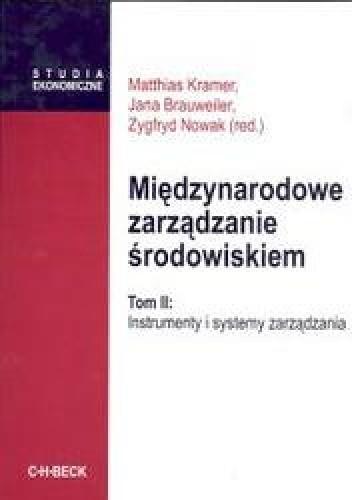 Okładka książki Międzynarodowe zarządzanie środowiskiem