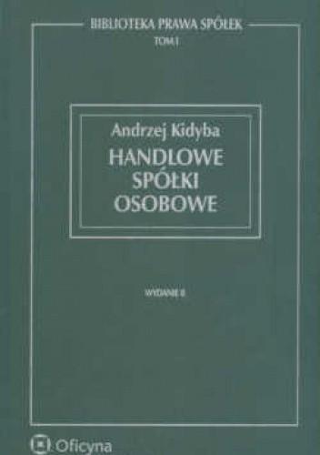Okładka książki Handlowe spółki osobowe