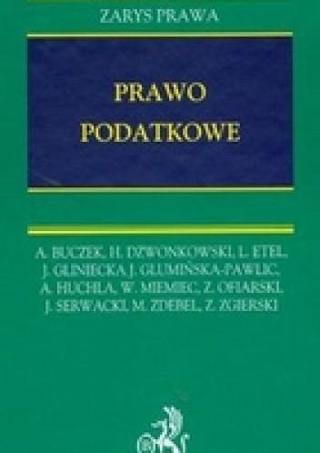 Okładka książki Prawo podatkowe