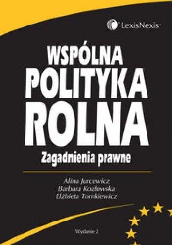 Okładka książki Wspólna polityka rolna