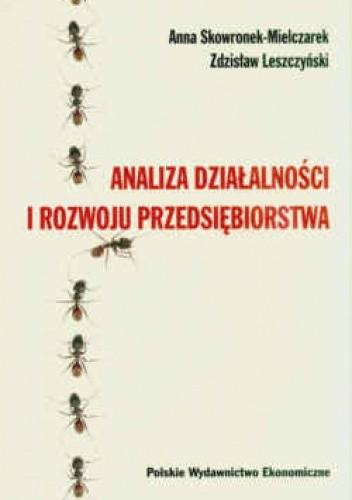 Okładka książki Analiza działalności i rozwoju przedsiębiorstwa