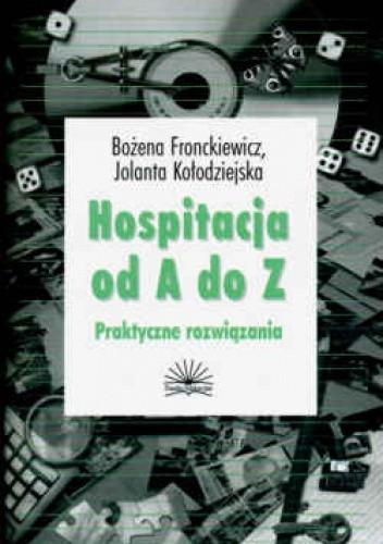 Okładka książki Hospitalizacja od A do z Praktyczne rozwiązania