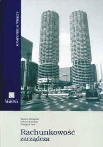 Okładka książki Rachunkowość zarządcza