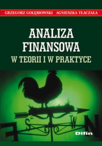 Okładka książki Analiza finansowa w teorii i w praktyce