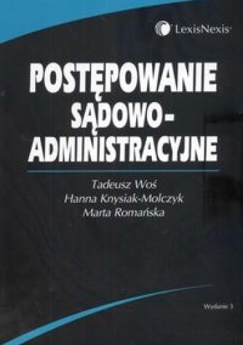Okładka książki Postępowanie sądowo - administracyjne