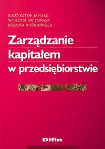 Okładka książki zarządzanie kapitałem w przedsiębiorstwie