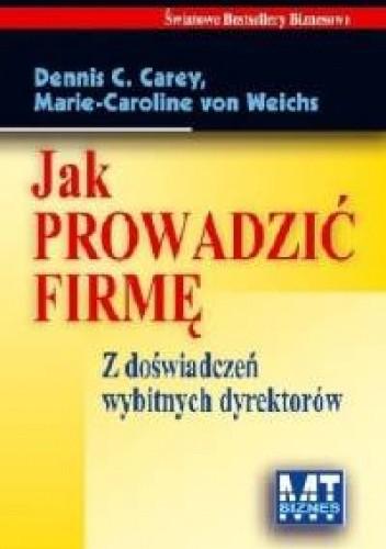 Okładka książki Jak prowadzić firmę