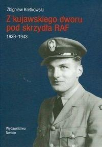 Okładka książki z kujawskiego dworu pod skrzydła RAF 1939-1943