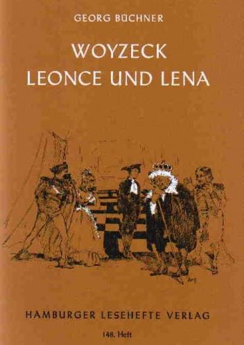Okładka książki Woyzeck Leonce und Lena