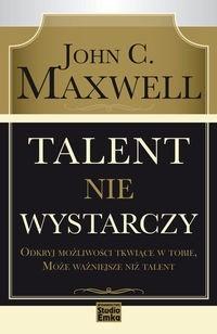 Okładka książki Talent nie wystarczy