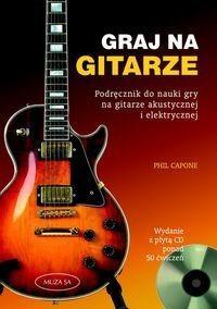 Okładka książki Graj na gitarze.