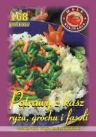Potrawy z kaszy ryżu i fasoli