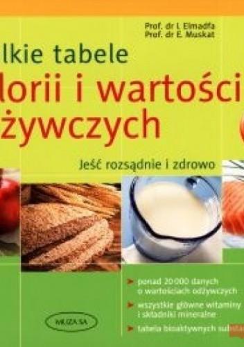 Okładka książki Wielkie tabele kalorii i wartości odżywczych