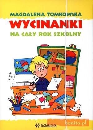 Okładka książki Wycinanki Na Cały Rok Szkolny