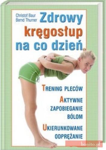 Okładka książki Zdrowy kręgosłup na co dzień