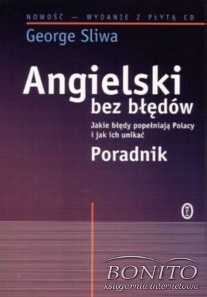 Okładka książki Angielski bez błędów + CD