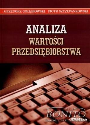 Okładka książki Analiza wartości przedsiębiorstwa