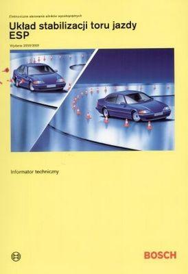 Okładka książki Bosch. Układ stabilizacji toru jazdy ESP