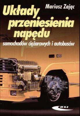 Okładka książki Układy przeniesienia napędu samochodów ciężarowych i autobusów