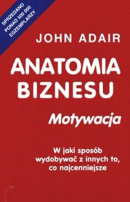 Okładka książki Anatomia biznesu. Motywacja