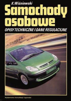 Okładka książki Samochody osobowe Tom 14 Opisy techniczne i dane regulacyjne